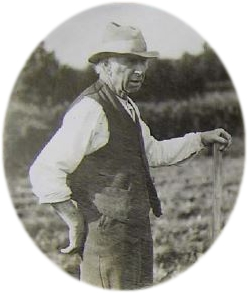 John Ogborne Ploughing Champion of Somerset