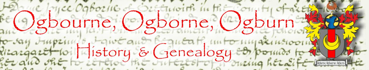 Ogbourne, Ogborne  Ogburn,      formerly known as 'Ogbourne Chronicles'
