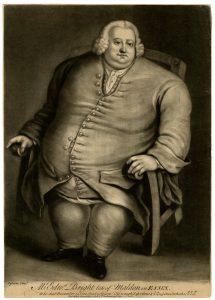 Portrait of Edward Bright, after David Ogborne